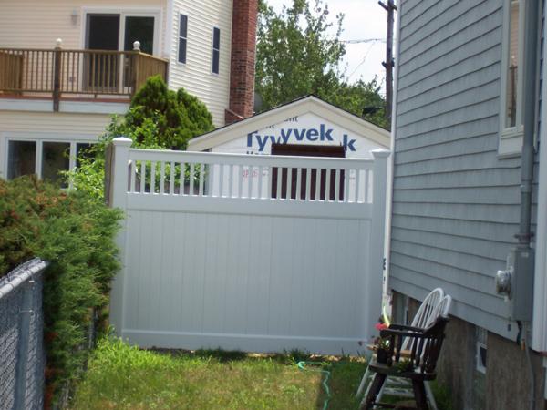 Types of vinyl fences fence gate